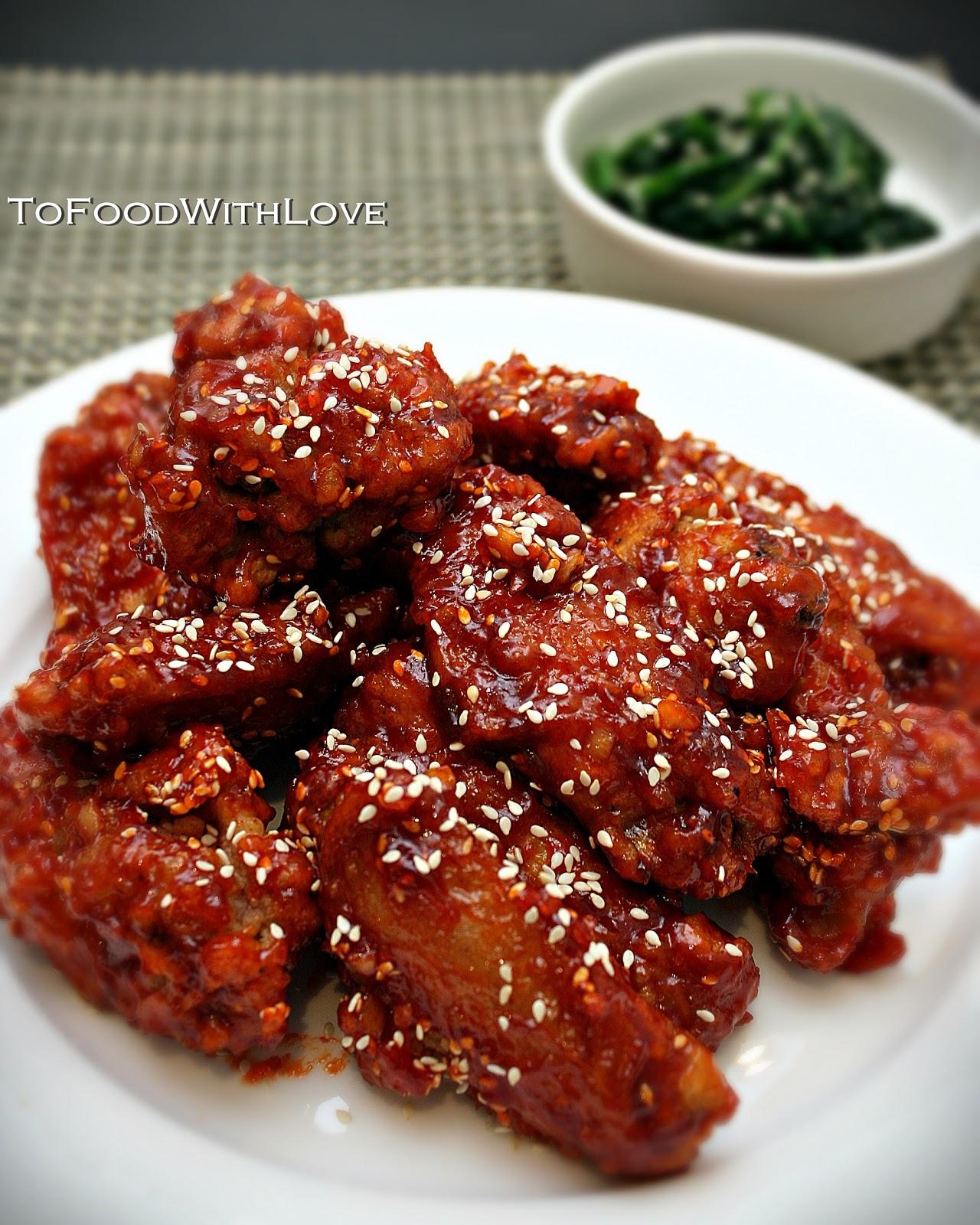 Yangnyeom Tongdak To Food with Love: Yan...