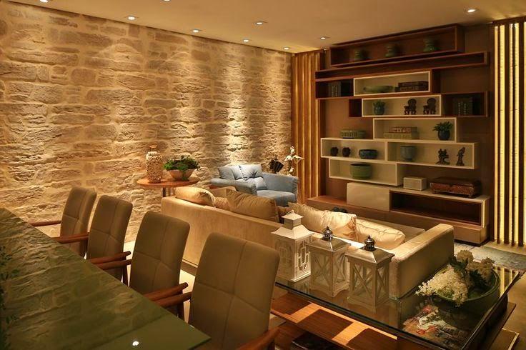 decoração-ambiente-parede-de-pedras