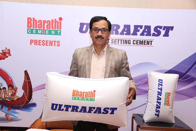 "LAUNCH OF NEW PRODUCT – BHARATHIULTRAFAST ""fast setting cement"""