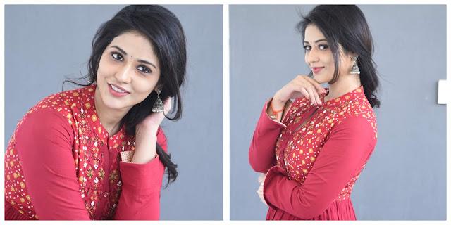 Priyanka Jawalkar Photo Shoot Stills From Taxiwaala Movie Promotions