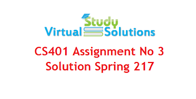 CS401 - Computer Architecture and Assembly Language Programming Assignment No 3 Solution