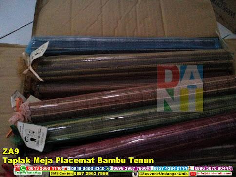 jual Taplak Meja Placemat Bambu Tenun