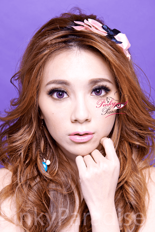 Mi Dali Extra Violet Toric Circle Lenses Model 2