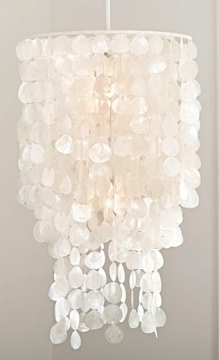 Capiz Chandelier Pottery Barn