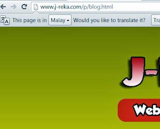 URL alamat blog