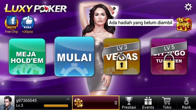 Luxy poker: online texas holdem