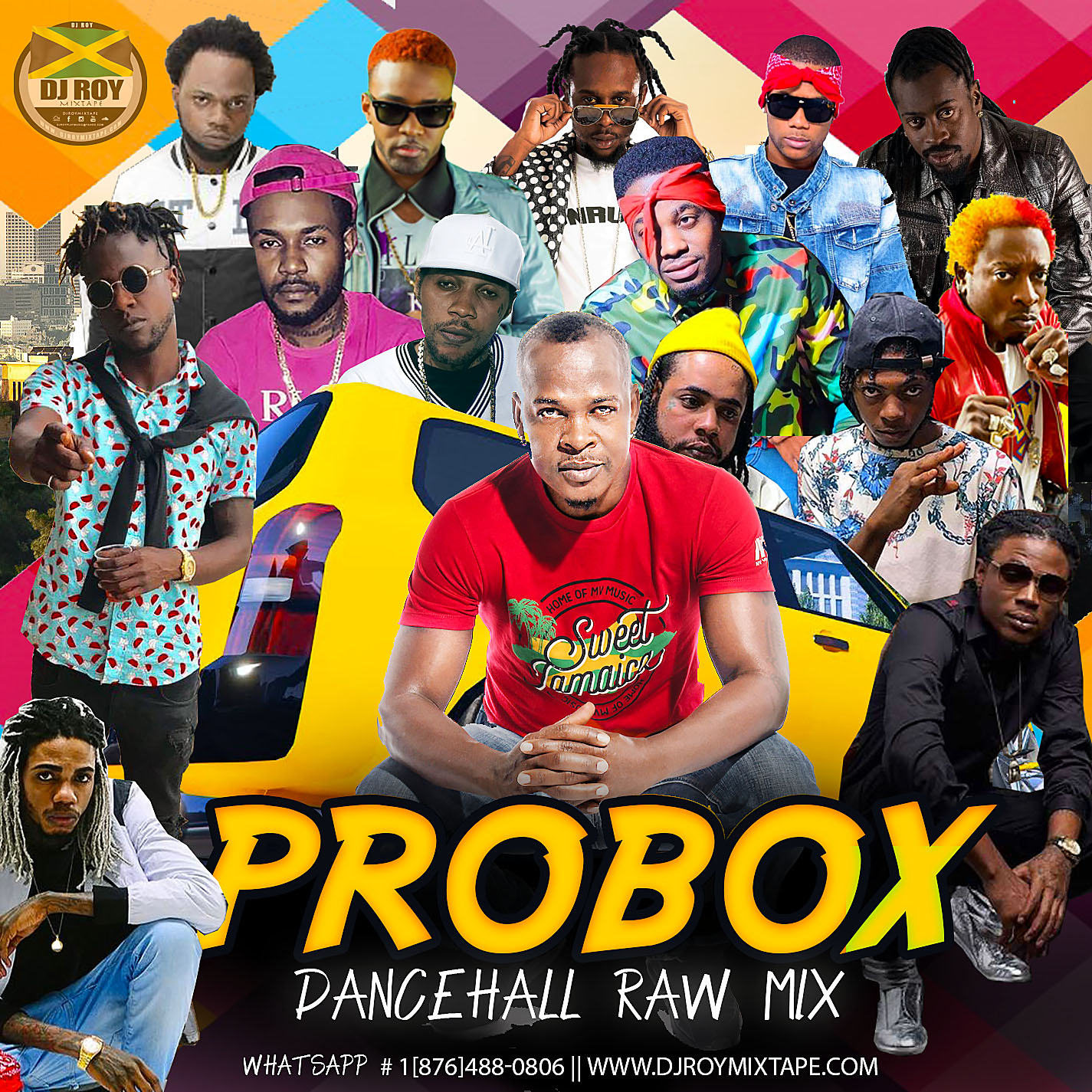 DJROYMIXTAPE : DJ ROY PROBOX DANCEHALL MIX 2019