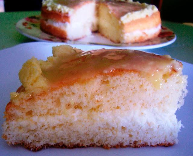 Torta Margarita con Crema de Mascarpone