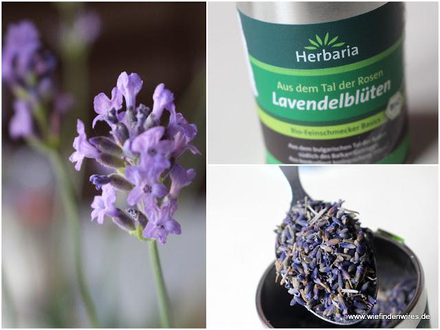 Getrocknete Blüten lavendelsirup selbst gemacht so einfach und so gut