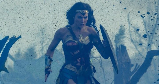 Patty Jenkins dirige a Gal Gadot en Wonder Woman