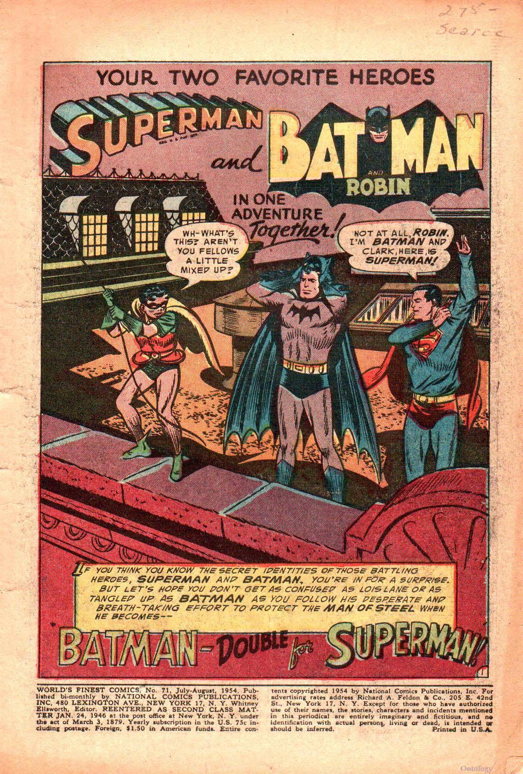Read online World's Finest Comics comic -  Issue #71 - 5
