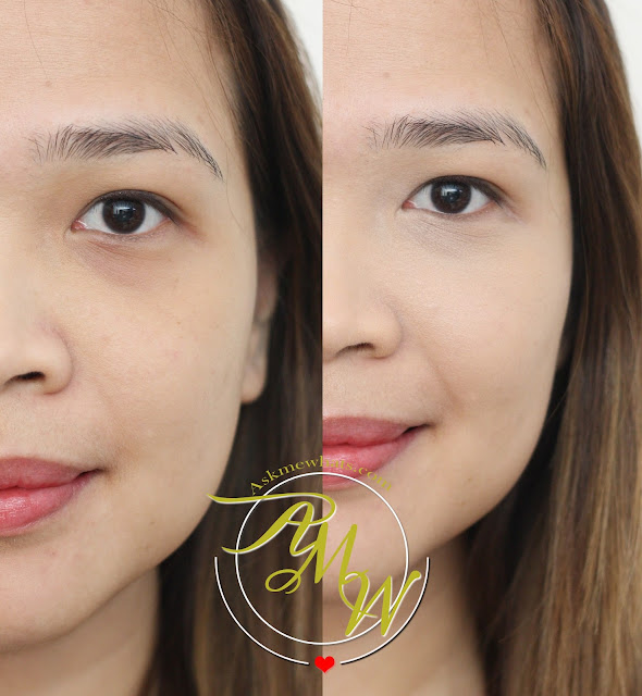 before and after photo of Essence Camouflage Concealer Review in Natural Beige