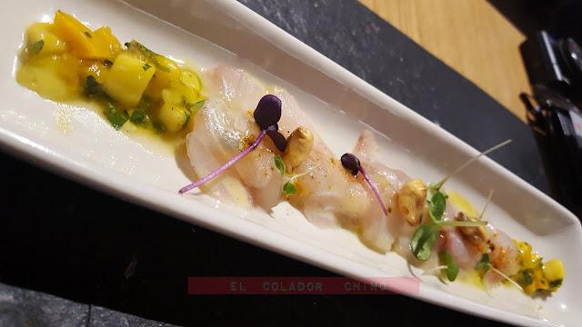 Restaurant Ona Nuit ceviche lubina elcoladorchino