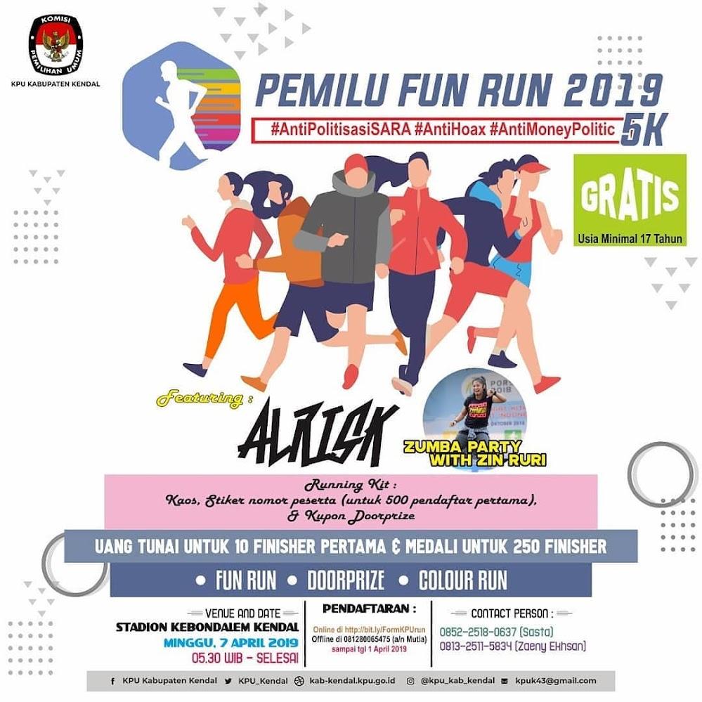 Pemilu Fun Run - Kendal • 2019