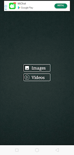 memilih gambar atai video untuk melihat story whatsapp