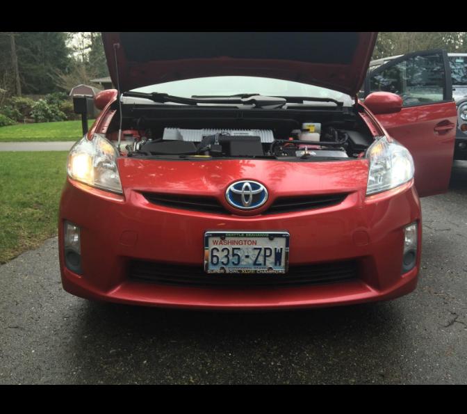 2010-2015 Toyota Prius Features Philips ZES LED Light