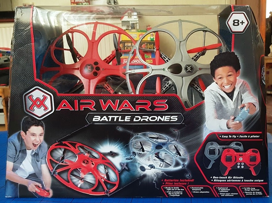 air wars battle drones instructions