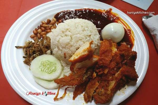 Resep dan Kuliner Nasi Lemak Ala ABC Bistro Cafe Kuala Lumpur Malaysia