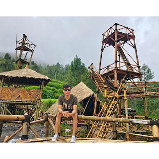 Lokasi Omah Bambu New Selo Boyolali