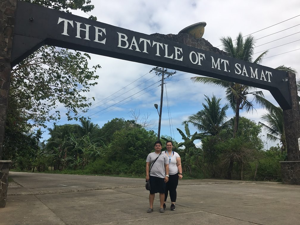 THE BATTLE OF MOUNT SAMAT ARCH