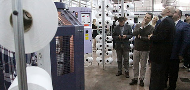 German textile company launches brownfield investment in Veles