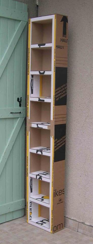 Muebles Hechos Con Cart N Construccion Y Manualidades