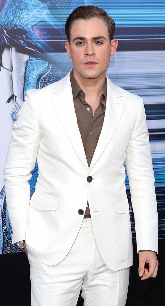 VJBrendan com: Dacre Montgomery at the 'Power Ranger' Movie