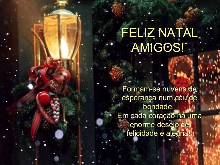 Feliz Natal Amigos Mensagem Frases Imagens Para Facebook