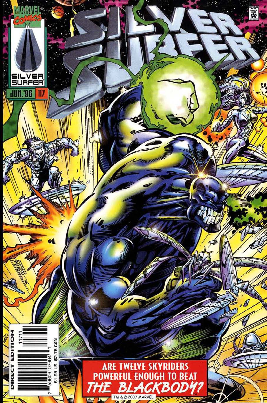 Read online Silver Surfer (1987) comic -  Issue #117 - 1