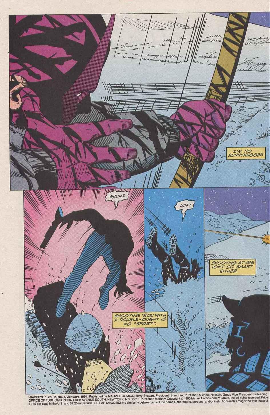 Hawkeye (1994) Issue #1 #1 - English 3