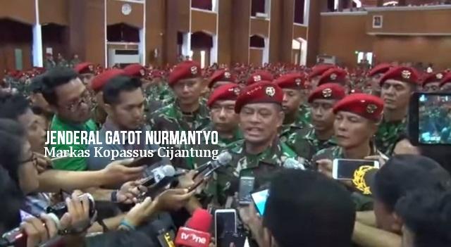 Soal Rumor Siaga I, Jenderal Gatot: Waspada, Kita Akan Dibuat Seperti 1965