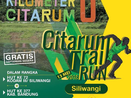 Citarum Trail Run 2018