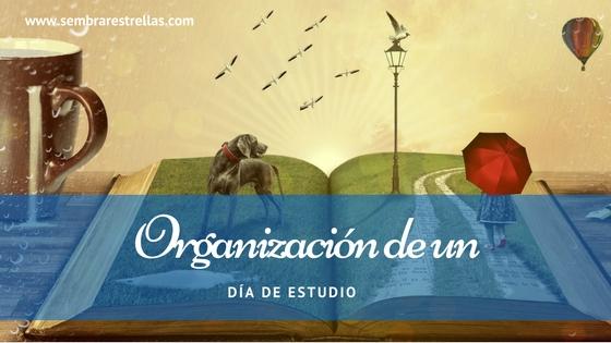 Organizacion de un dia de estudios, planes, homeschool, planificar un dia educativo