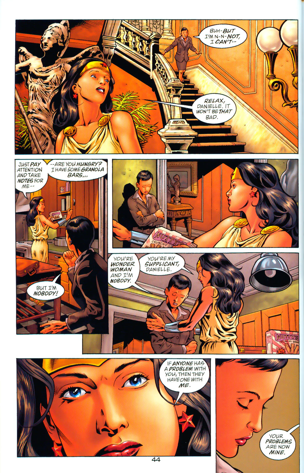 Read online Wonder Woman: The Hiketeia comic -  Issue # Full - 52