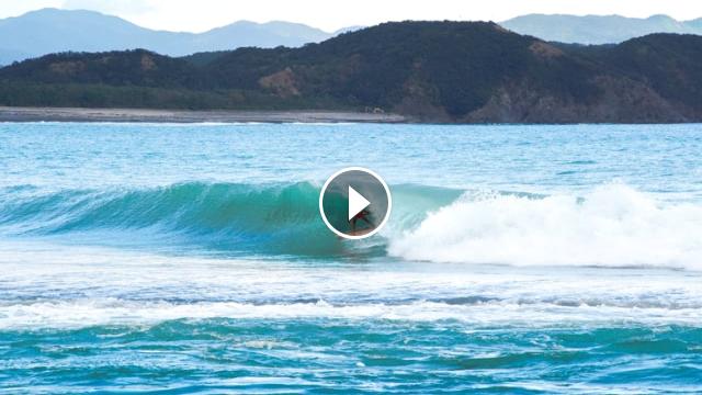 Wave riding Japan