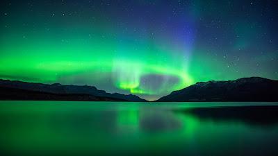Papel de parede para pc aurora boreal