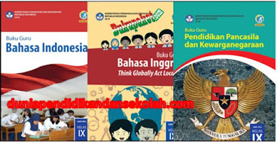 Download Buku Terbaru Bahasa Indonesia, Bahasa Inggris, IPS, IPA, Matematika, PJOK, PPKn, Prakarya, Seni Budaya Revisi 2018 Kelas 9 SMP/ MTs