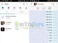 App BBM Coba Mod | v300.3.8.78 | Trangga Ken