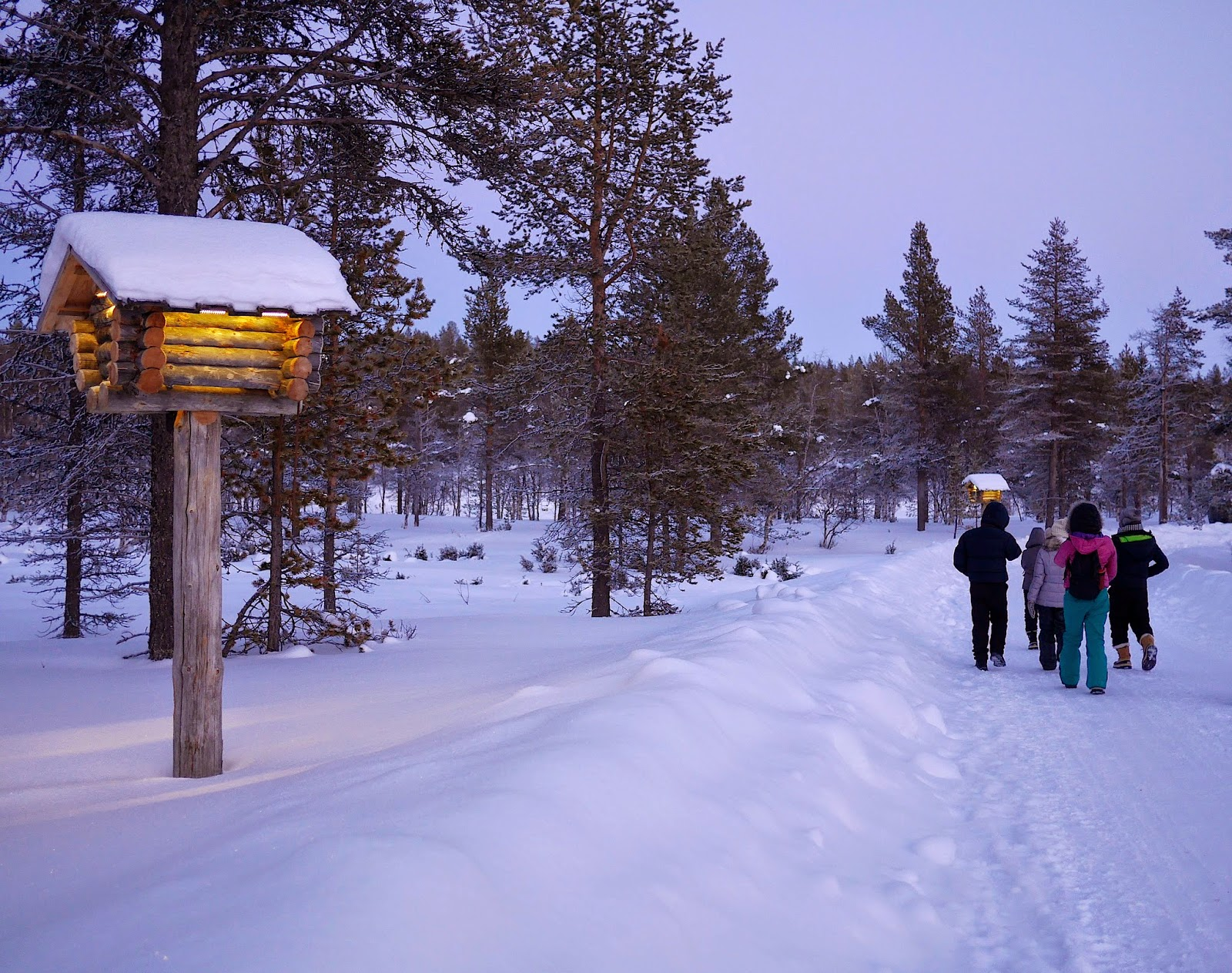 Winter at Kakslauttanen, Finnish Lapland
