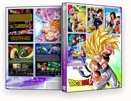 CAPA DVD – Dragon Ball Z Filmes 4 em 1 Vol.32 – ISO