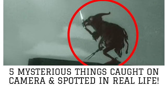 5 Mysterious Things Caught on Camera & Spotted In Real Life!