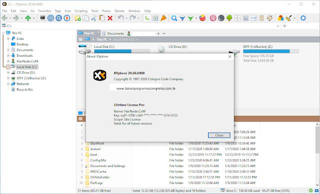 XYplorer v20.60.0400 + Keygen