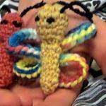 patron gratis mariposa amigurumi | free amigurumi pattern butterfly