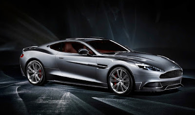 2015 New Aston Martin Vanquish  Edition front side view