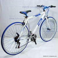 4 Sepeda Hybrid PACIFIC Instantaneous Enaction 1.0 18 Speed Shimano 700C