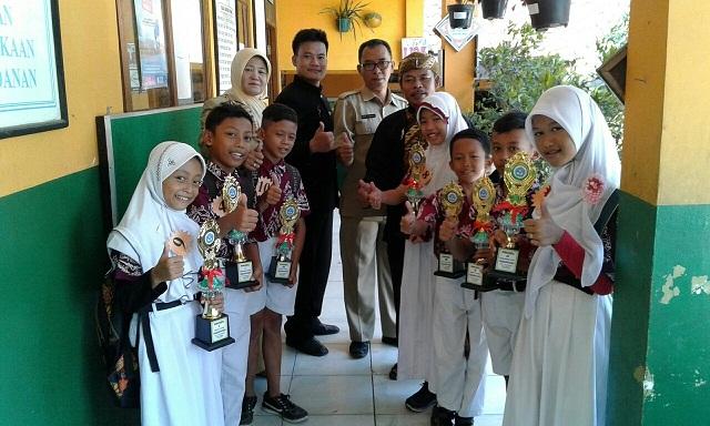 SDN Sukamaju 5 Juara Umum Pasanggiri Kecamatan Cilodong