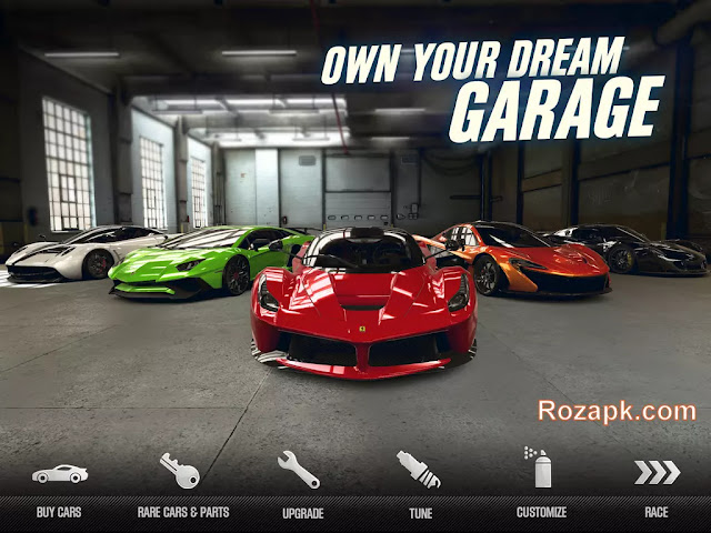 CSR Racing 2 Hack Apk