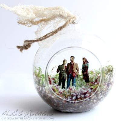 Zombie Ornaments - Nichola Battilana