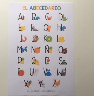 Actividades para trabajar el abecedario. Actividades para trabajar vocabulario clase de ELE Clase de Inglés. Inglés para niños.