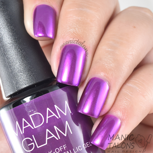 Madam Glam Metallic Gel Chiquitita Swatch